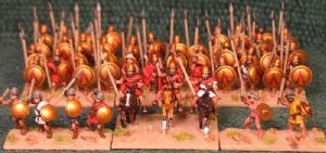 15mm Xyston, Spartan 450 to 275BC DBA Starter Army (ANC3001)